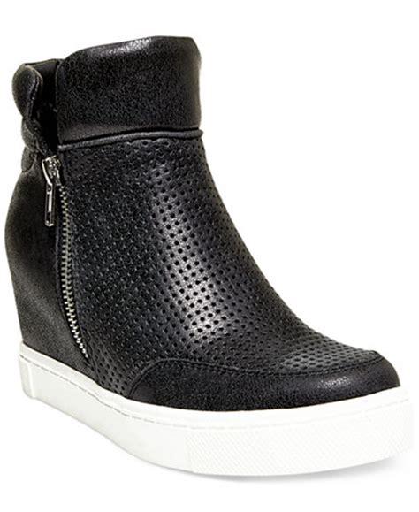 steve madden s linqsp wedge sneakers sneakers