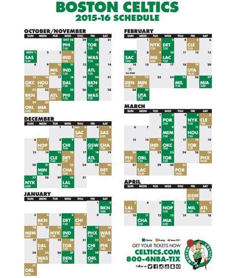 Calendario De Boston Nba Divulga Calend 225 Da Pr 243 Xima Temporada Celtics Brasil