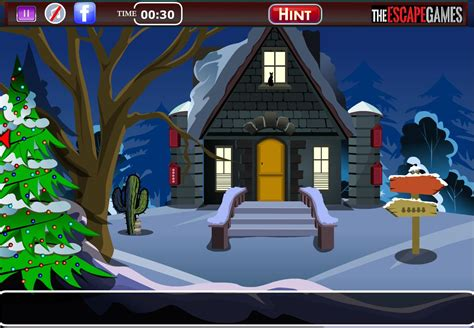 flash игра find the christmas gift escape