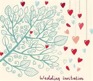 free wedding invitation card design template 04