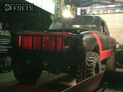 Suspension Metal 2897 wheel offset 1994 ford ranger aggressive 1 outside fender