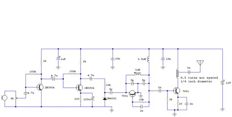 2 transistor fm transmitter circuit 4 transistor 500mw fm transmitter circuit diagram audio lifier schematic circuits picture
