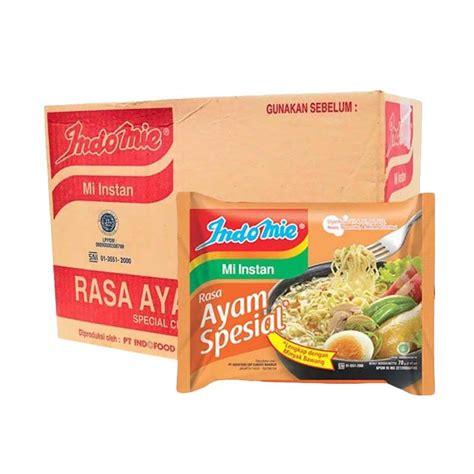 Mie Daan Sekarton Isi 40 Pcs jual indomie rasa ayam special mie instan 68 g 40 pcs harga kualitas terjamin