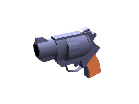 Papercraft Pistol - 7 best images of papercraft gun templates printable free