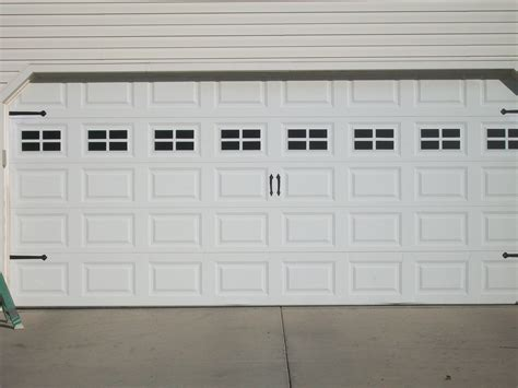 Garage Doors Kits Diy Faux Garage Window Carriage Kit Dime And A Prayer