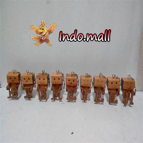 Gantungan Kunci Danbo jual gantungan kunci danbo kayu kado romantis unik lucu indo mall