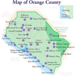orange county california map with cities orange county town car rental at lax airport