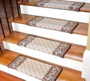 Bullnose Carpet Stair Treads by Dean Bullnose Wraparound Non Skid Carpet Stair Treads