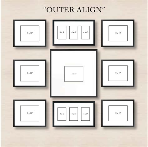 photo layout on wall 6 ways to set up a gallery wall