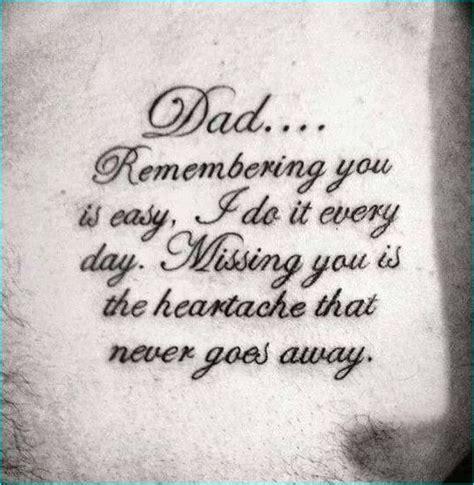 memorial tattoo quotes pinterest 17 memorial tattoo quotes ideas instead of dad it