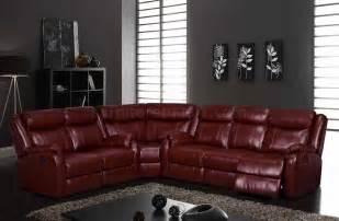u9303 motion sectional sofa in burgundy by global