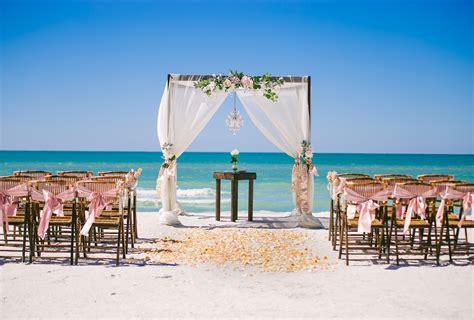 beach side affair tide  knot beach weddings st pete