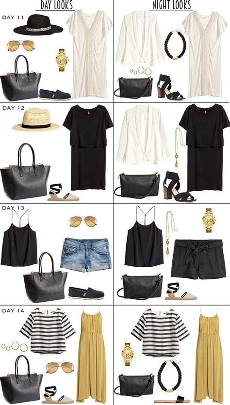 Cruise Wardrobe - 14 day caribbean resort packing list part 2 caribbean