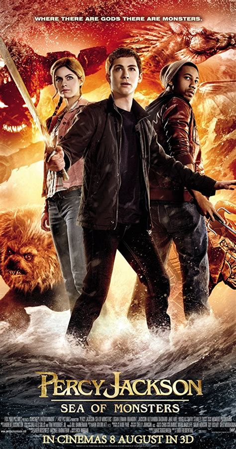 The Sea Of Monsters Cover 8 Th Anniversary Percy J Oleh Rick R percy jackson sea of monsters 2013 imdb
