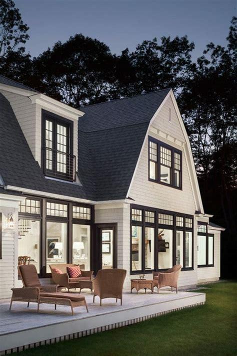 black window trim modernize