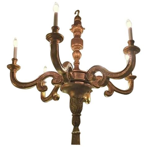 Italian Louis Xvi Fashioned Six Light Large Chandelier For Fashioned Chandeliers
