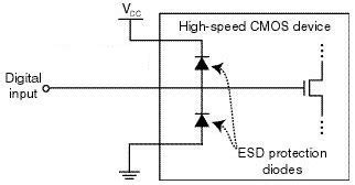 esd protection diode with resistors electronics help zener diodes and voltage divider combined