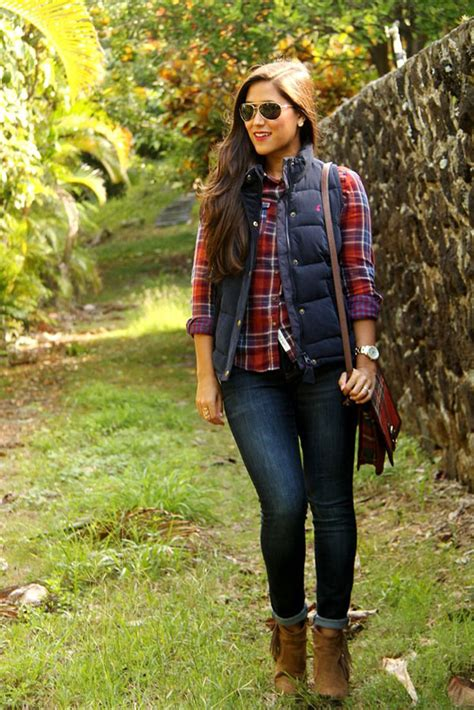8 Tips On How To Wear The Make Up Trend by 20 Style Tips On How To Wear A Plaid Or Flannel Shirt