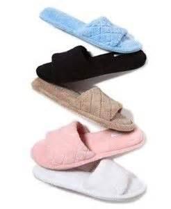 macys womens house slippers charter club womens house slippers 5 6 light blue open toe