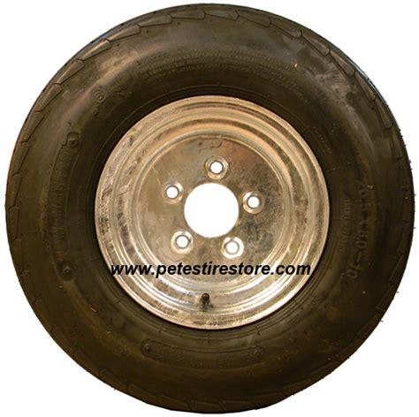 yokohama boat trailer tires 20 5x8 0 10 greenball towmaster tire and galvanized wheel