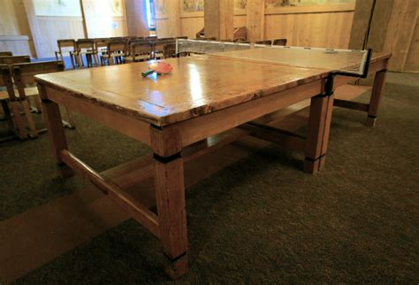 Wooden Ping Pong Table by Diy Ping Pong Table Wood Plans Free