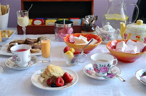 an early spring tea party