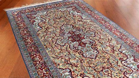 Indian Handmade Carpets - buy kashmir silk handmade rugs from india sc11