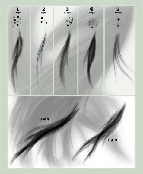 Download Hair Brushes For Photoshop Cs3 | 26 sets of photoshop hair brushes you can use for free
