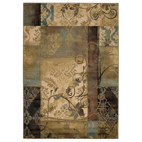 10 x 12 area rugs lowes shop style selections lingfield rectangular transitional woven area rug common 10 ft x