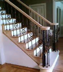 banister synonym st louis stair wood works metal or wrought iron