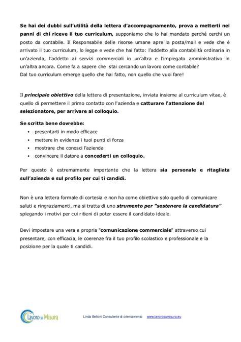 lettere di accompagnamento cv lettera di accompagnamento strumento utile o superato