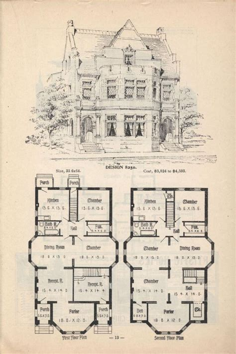 historic victorian floor plans old classic floor plans 1890s 2 story home artistic city