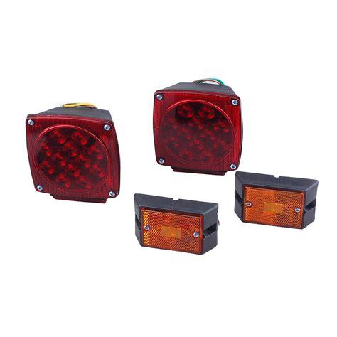 membuat lu led 12 volt max load 12 volt led trailer light kit 35703 the home depot