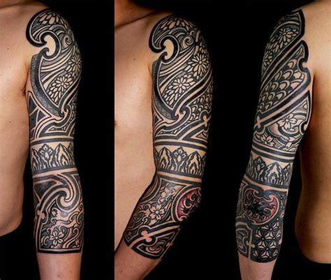 south african tribal tattoos tribal sleeve tattoos tribal