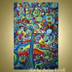 Unique Painting modern colorful unique abstract artwork for sale