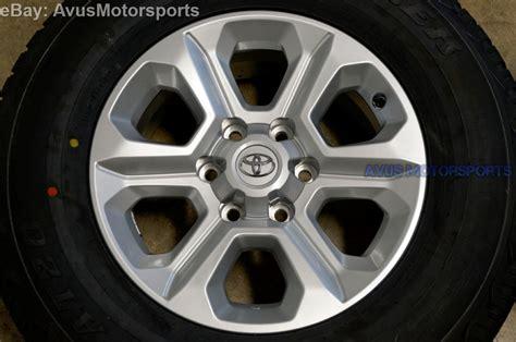 Toyota Wheels 2015 Toyota 4runner Oem Factory 17 Quot Trd Wheels Sr5 Fj Land