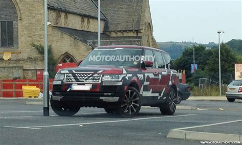new land rover defender 2013 2013 land rover range rover spy shots