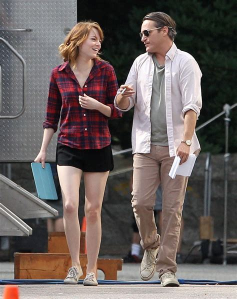 emma stone woody allen emma stone woody allen s latest film set photos rhode