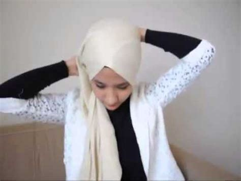 tutorial pashmina turban style hijab turban style pashmina tutorial by syireen saari