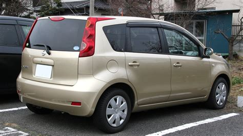 nissan note 2004 file 2005 2008 nissan note rear jpg wikimedia commons