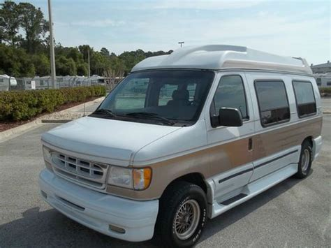 best vans for cer conversion buy used ford e150 la west high top conversion in