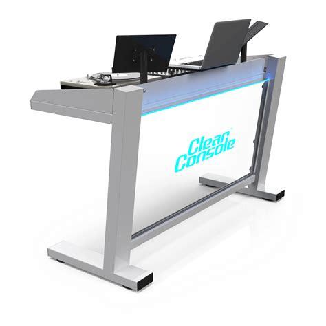 portable modular custom dj booths tables stands
