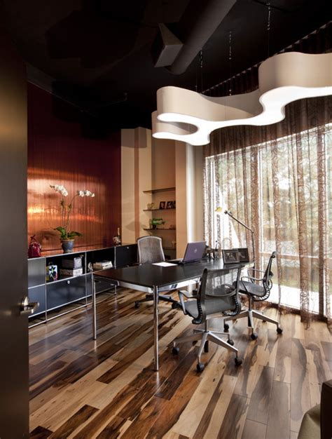 executive office modern home office other metro by