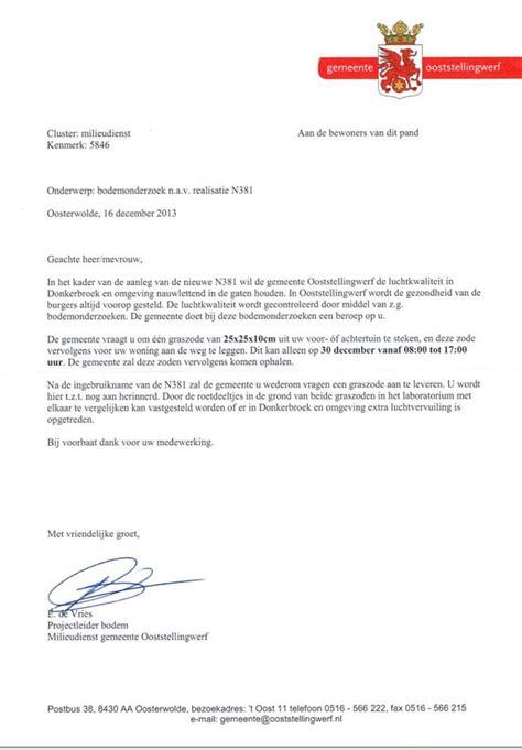 Hoe Deel Ik Mijn Zakelijke Brief In Taaluilen officiele brief voorbeeld cv 2018