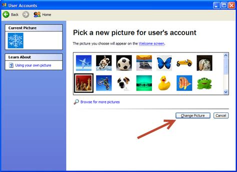 windows 10 tutorial for xp users how to change your user account picture in microsoft