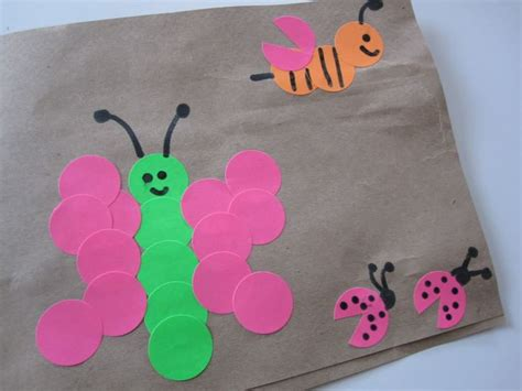 Arts And Crafts With Paper Bags - idea to decorate brown paper bags school lunch