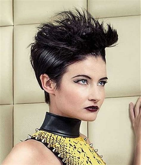 best way to spike female hair short spikey hairstyles for black women
