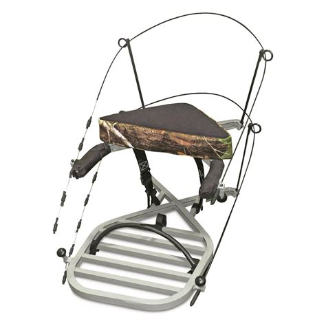 miniature tree stand x stand mini x 1 climbing tree stand 699069 climbing tree stands at sportsman s guide