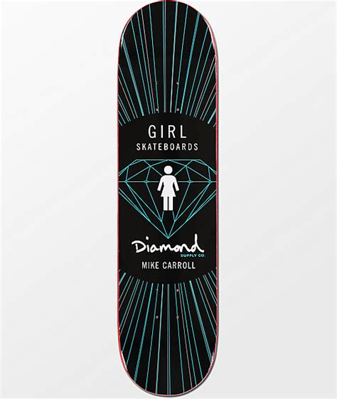 x skateboard deck x supply co mike carroll 8 0 quot skateboard deck