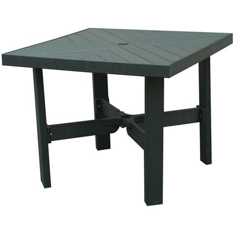 Plastic Patio Table Eagle One Recycled Plastic Patio Dining Table Ultimate Patio